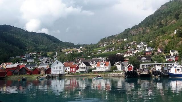 solvorn prístav nórsko
