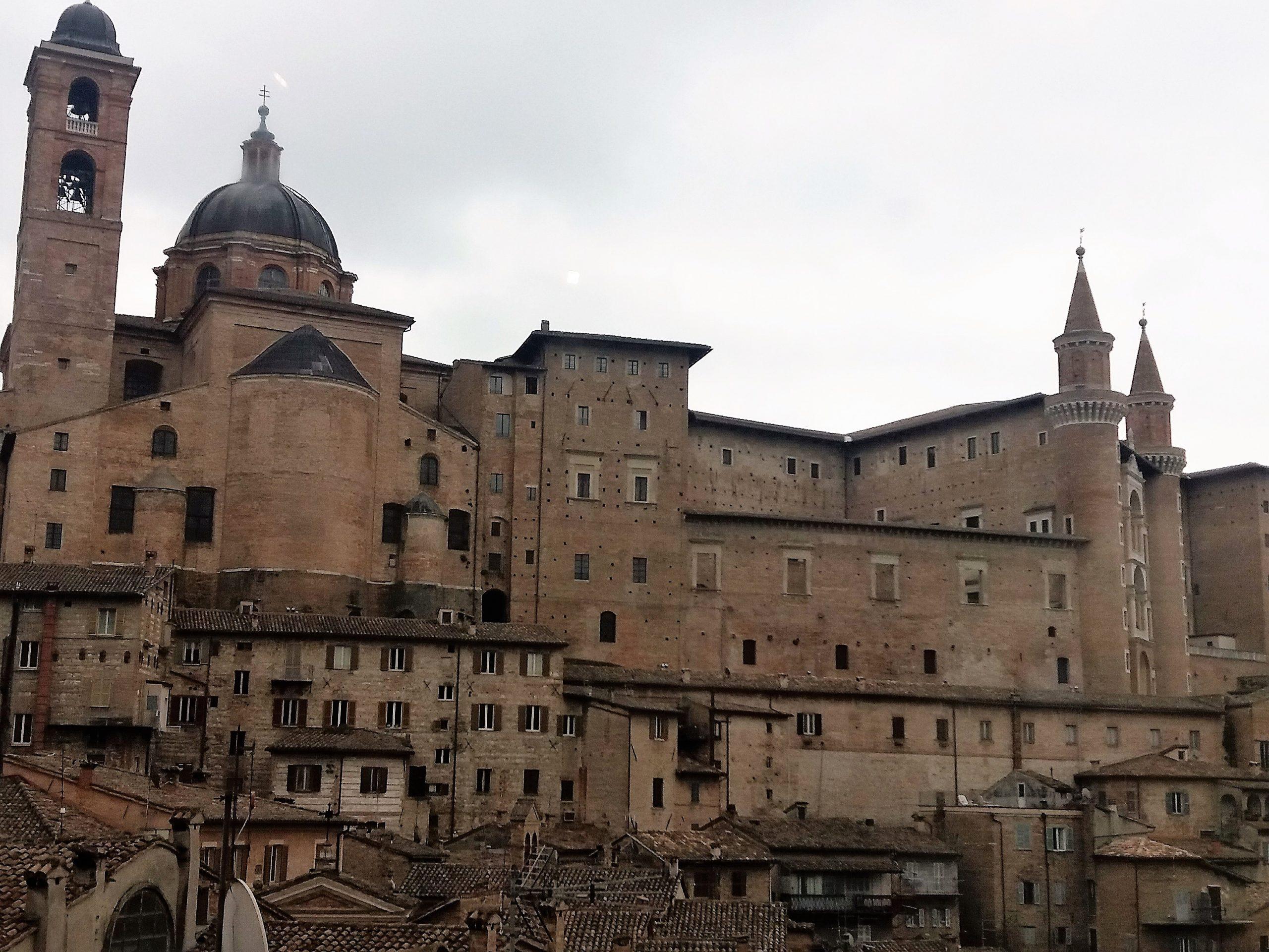 Urbino-výhľad