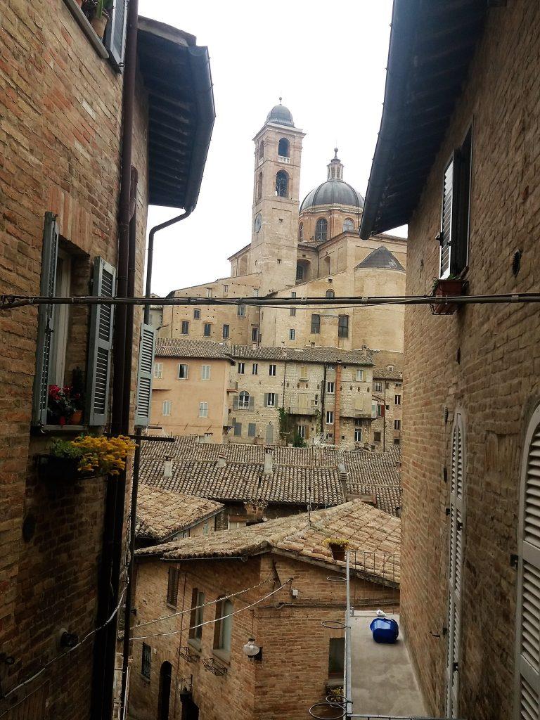 Urbino - výhľad